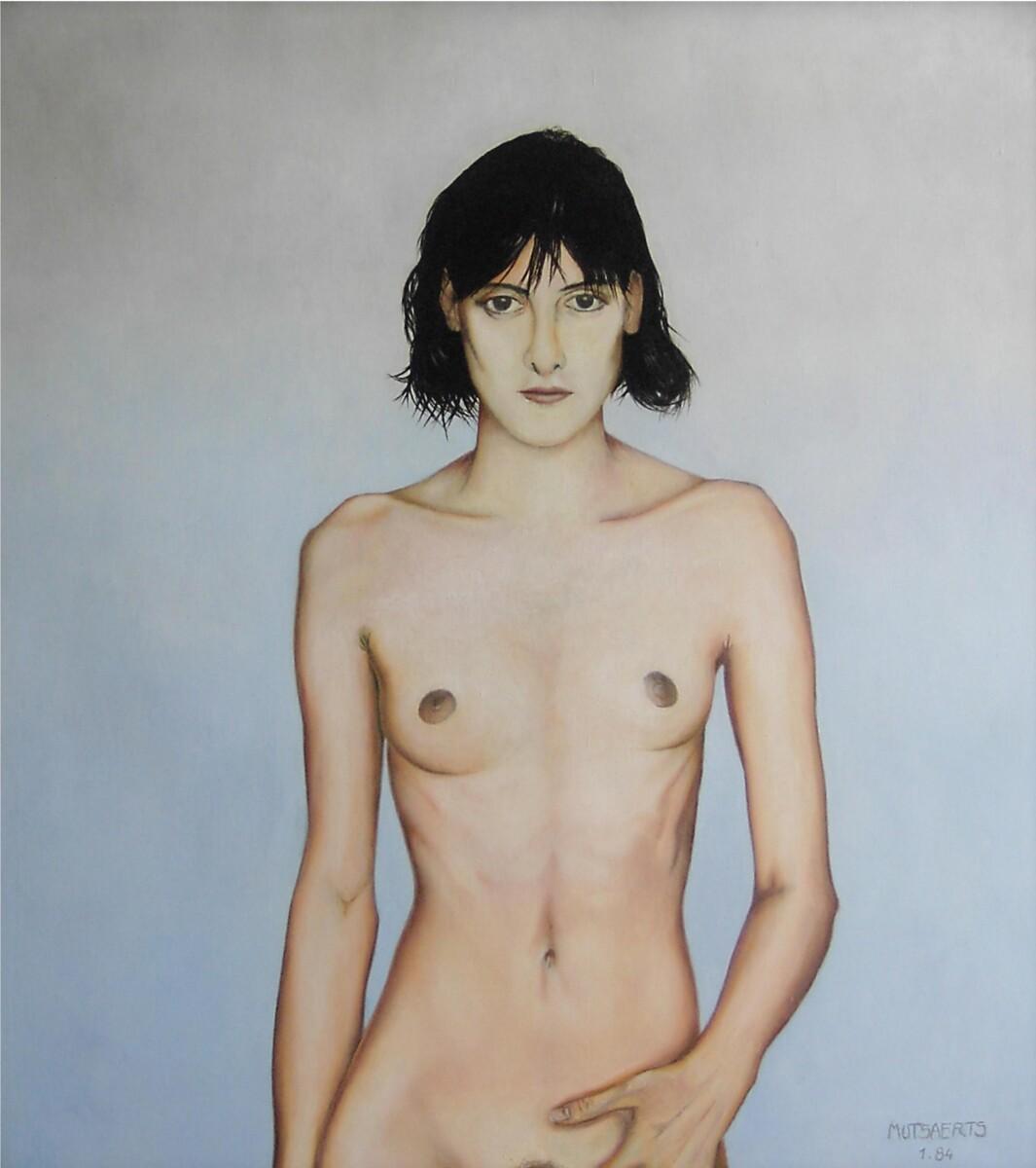 1984.1, масло на холсте, 110*100 cm - Dirk Mutsaerts