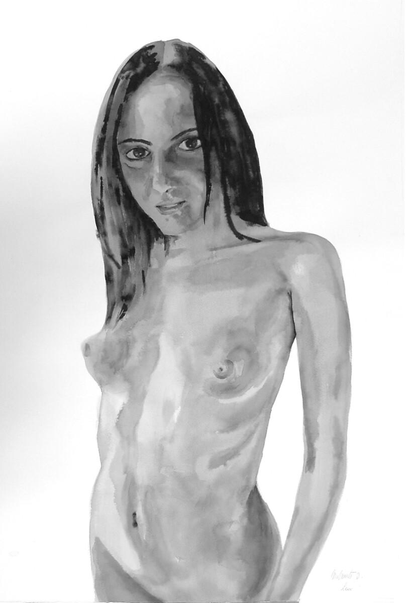 2000, ink on paper, 115*75 cm - Dirk Mutsaerts